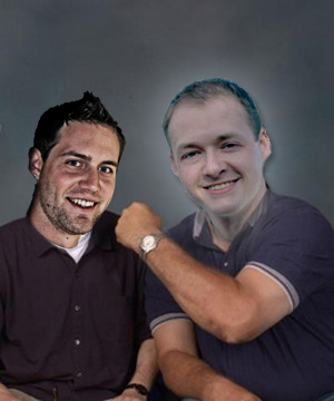 Matt Rogers and Ross Gale fake picture.